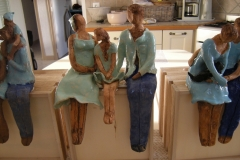 Christine Deloot-sculptures