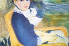 Christine MIGEON-(d'après Renoir)
