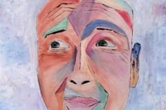 Marc Raynal-autoportrait