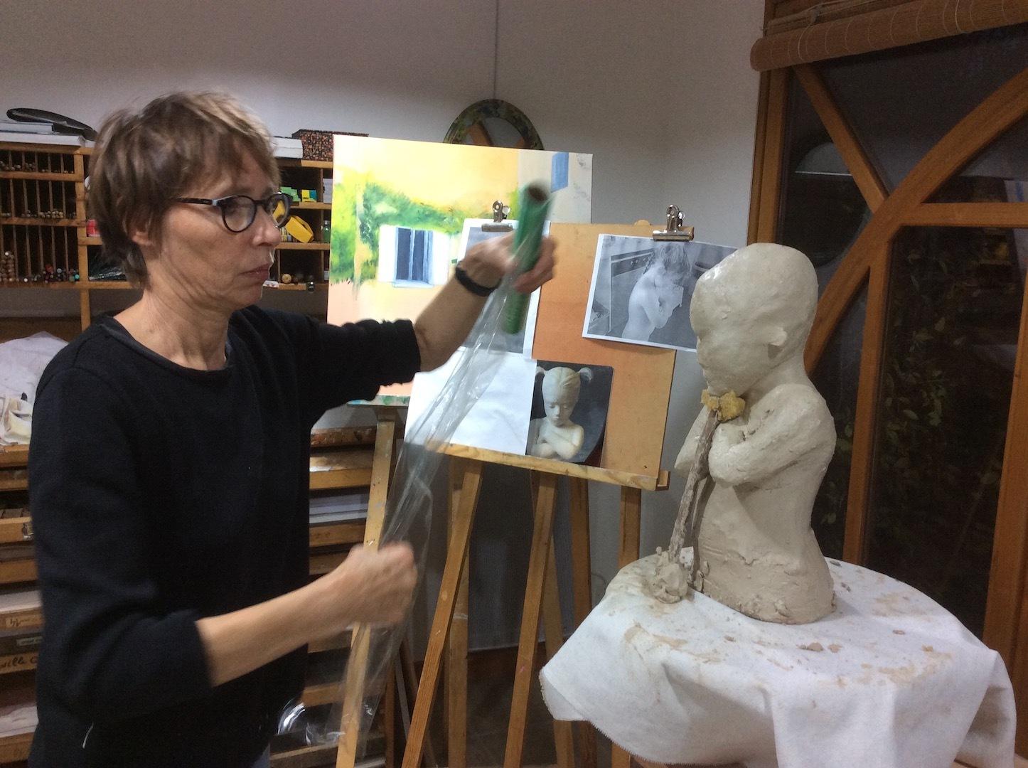 2018- Pétrouchka - Sculpture et modelage grès
