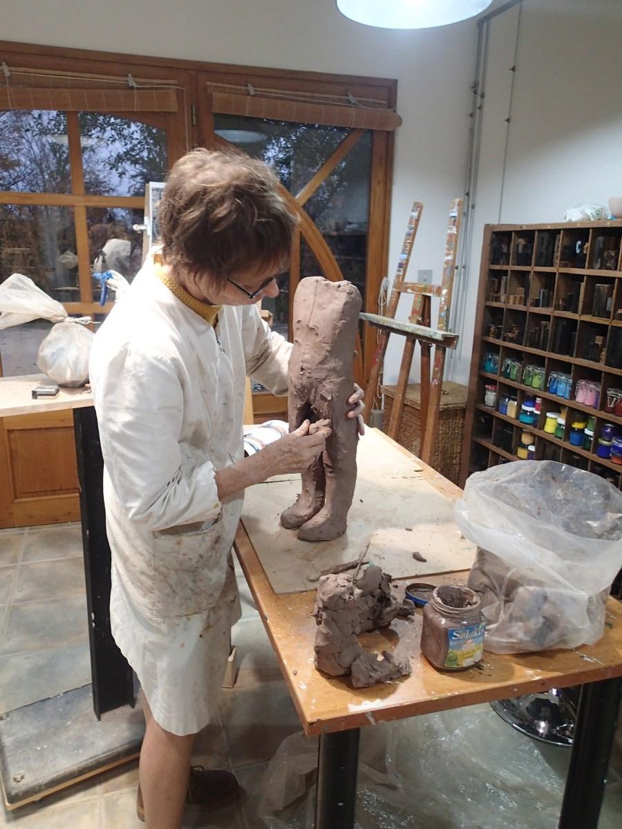 2020/02- Yurga 01 - Sculpture et modelage grès