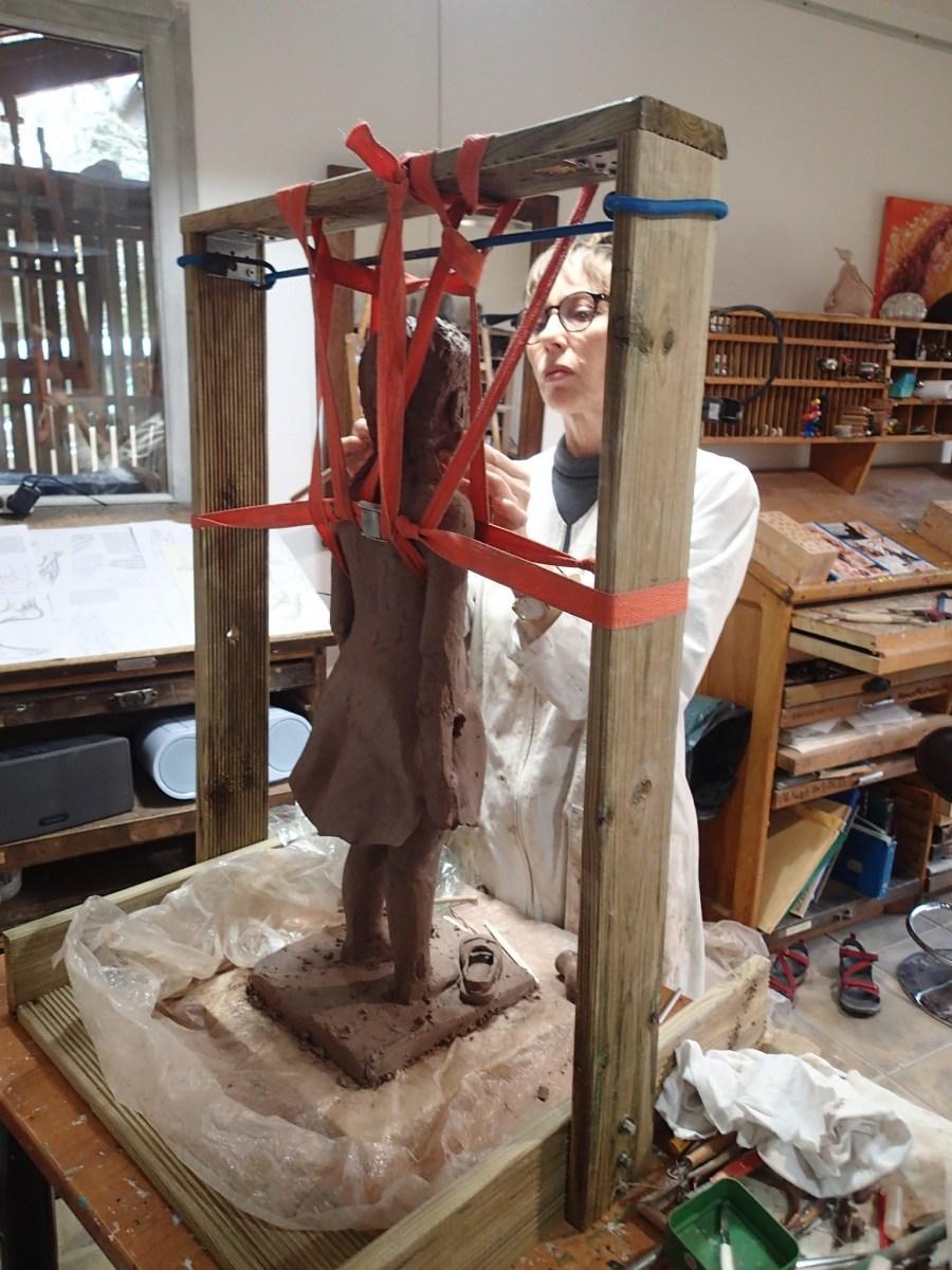 2020/02- Yurga 06 - Sculpture et modelage grès