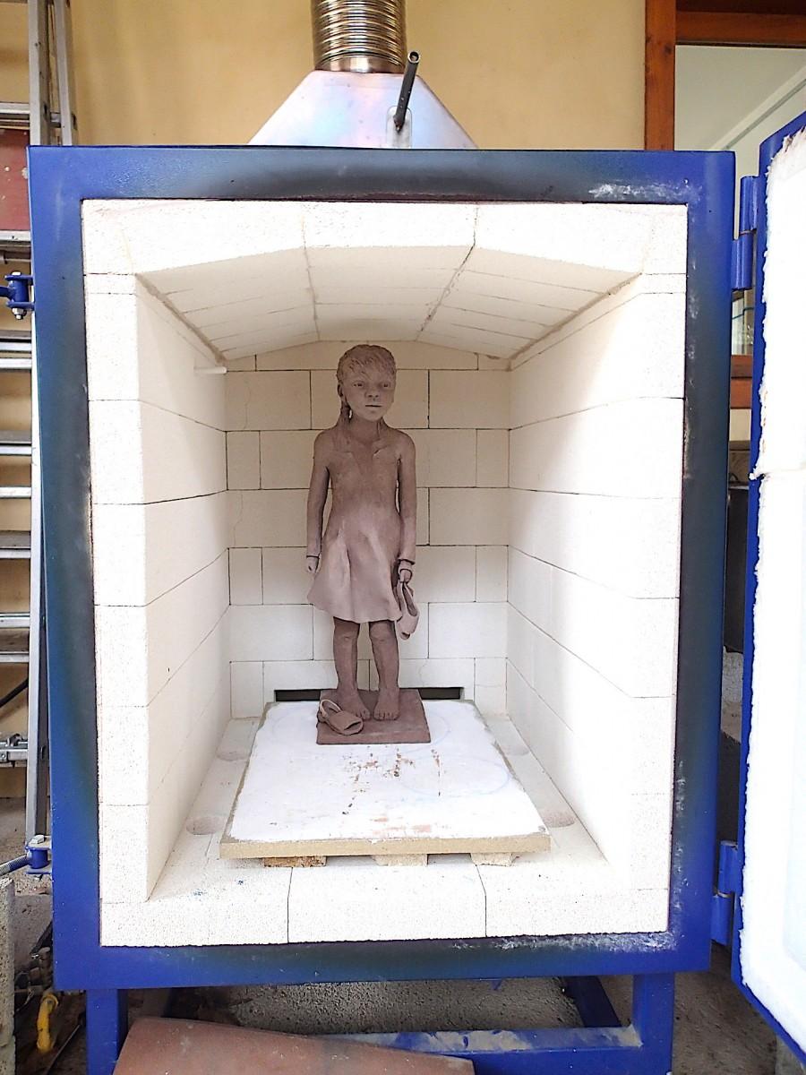 2020/02- Yurga 10- Sculpture et modelage grès