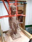 2020/02- Yurga 09 - Sculpture et modelage grès