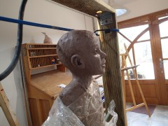 2020/02- Yurga 04 - Sculpture et modelage grès