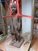 2020/02- Yurga 07 - Sculpture et modelage grès