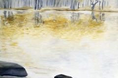 Patricia Mery - bord de lac
