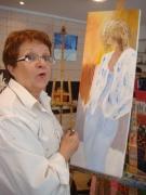 Pierrette Lioret-atelier