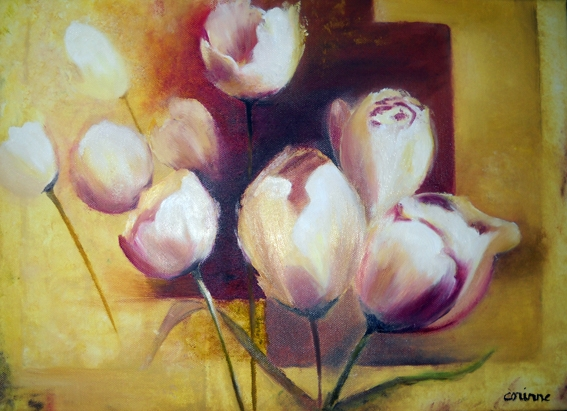 Corinne JEAN -Tulipes