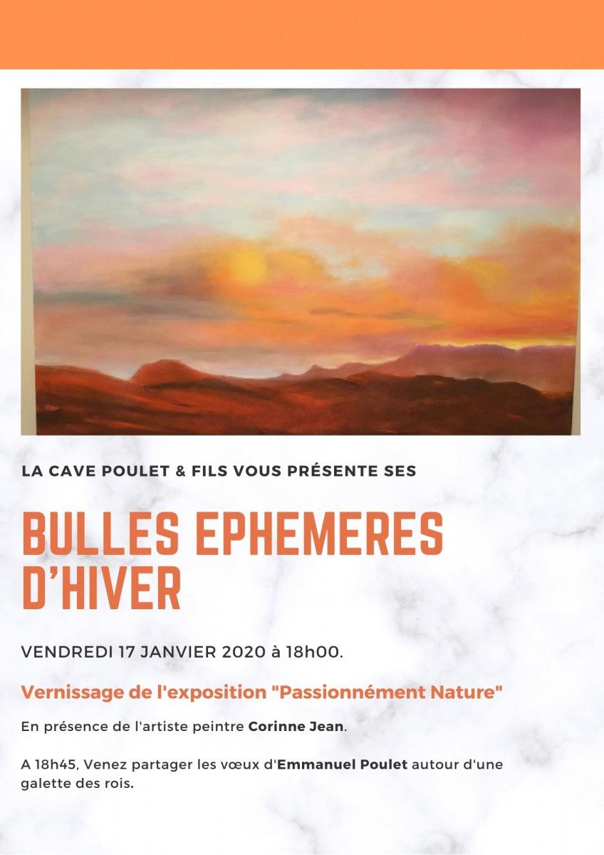 Exposition Corinne JEAN - Cave Poulet à Vercheny