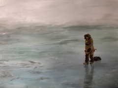 Mireille GIRBAUD - Banquise esquimau