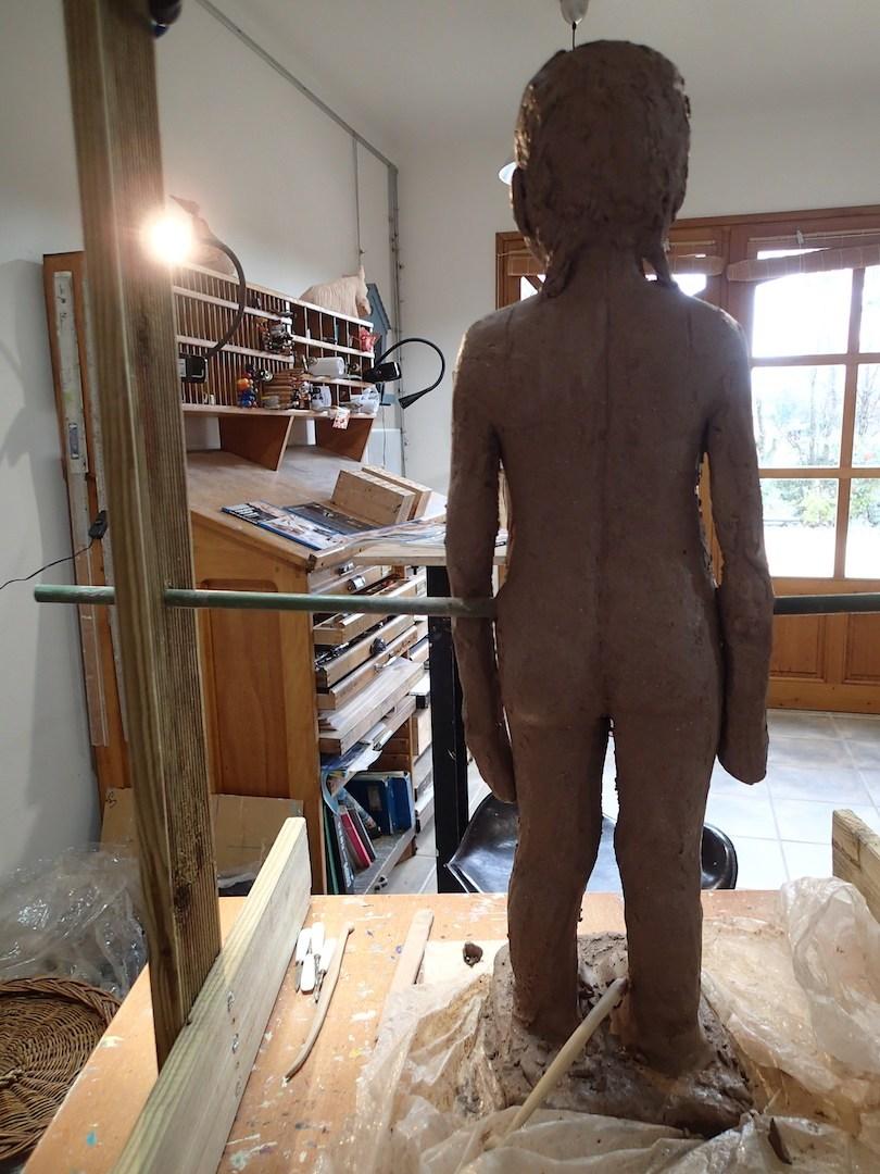2020/02- Yurga 05 - Sculpture et modelage grès