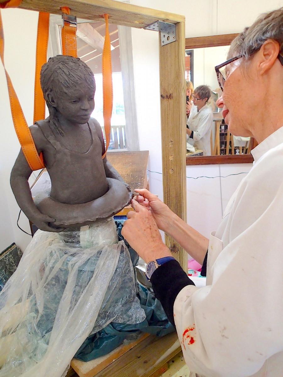 2020/03- Summer 4 - Sculpture et modelage grès
