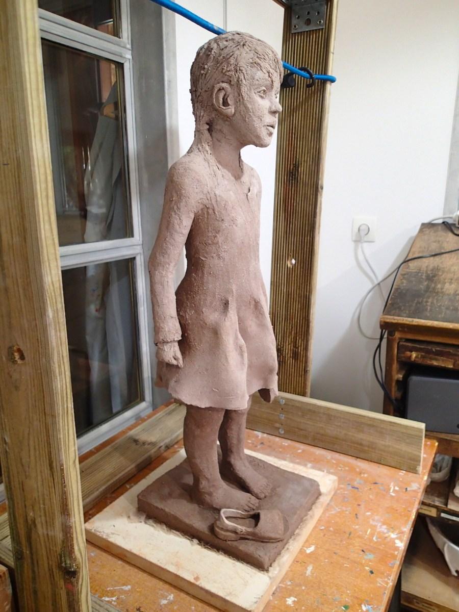 2020/02- Yurga 08 - Sculpture et modelage grès