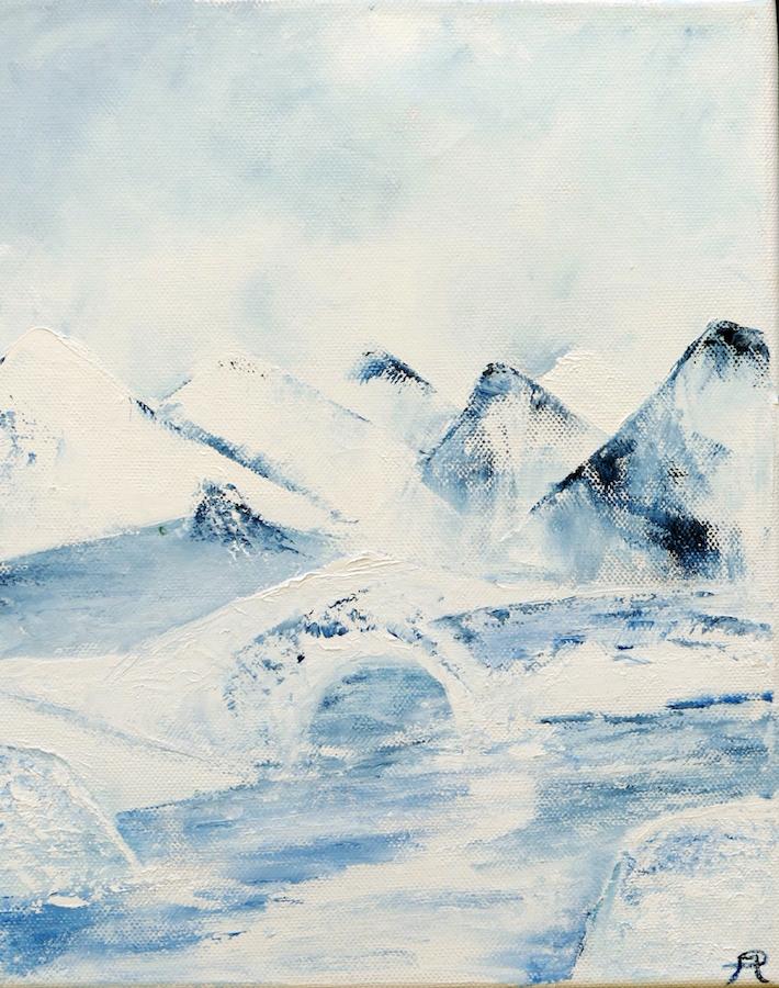 Patricia Mery - D'eau et de glace petit format