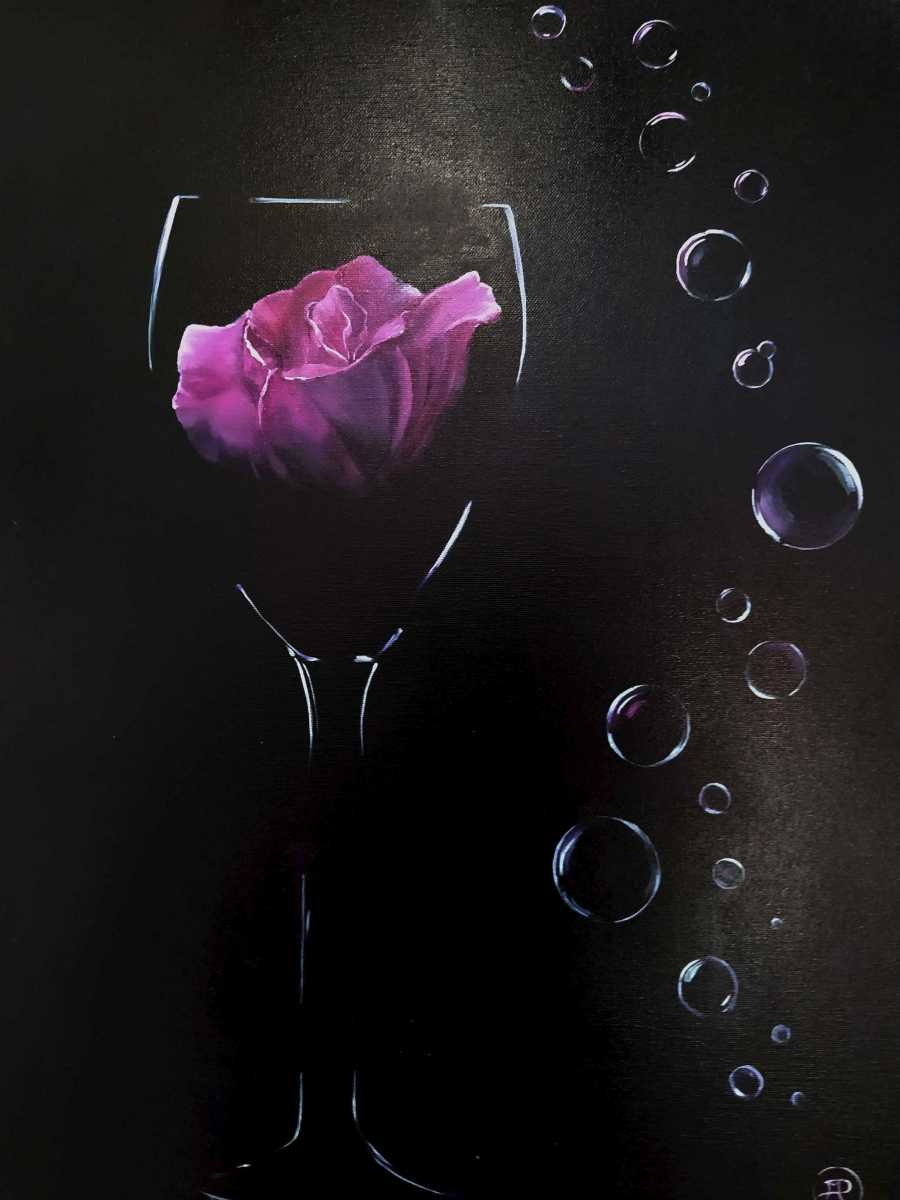 Patricia Mery - rose pétillante