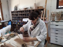 Samantha DEFAY - modelage céramique