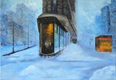 NY sous la neige S